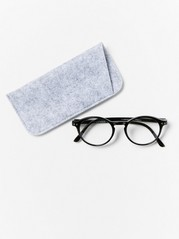 Round Reading Glasses Black