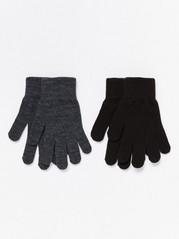 2-Pack Magic Gloves  Grey