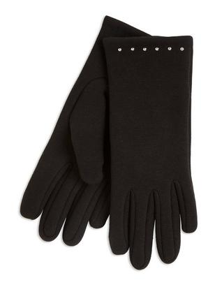 Mittens with Rivets Black