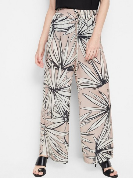 Mønstrede bukser Rosa