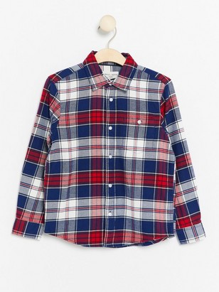 Checked Flanell Shirt Red