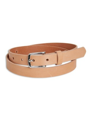Leather Belt Red