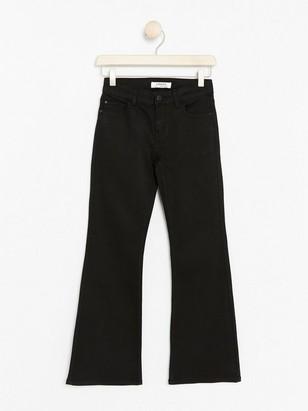 Slim Bootcut Jeans Black