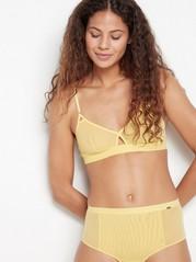 Mesh Bralette  Yellow