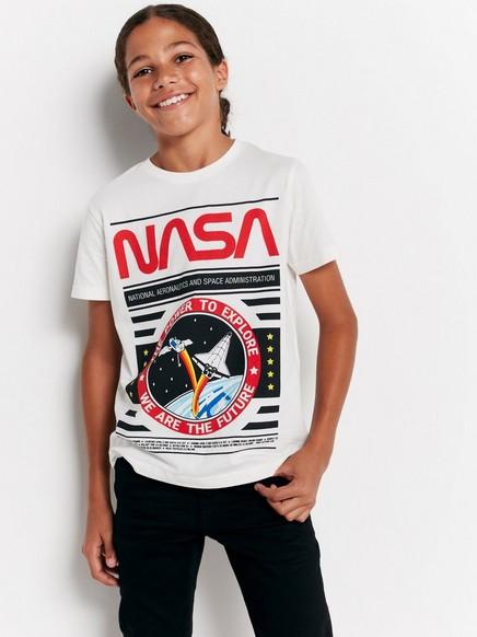 NASA-t-paita Valkoinen