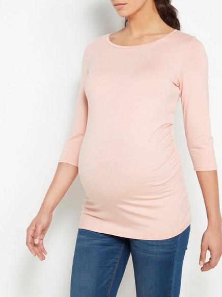 MOM-pusero Tencel®-sekoitetta Vaaleanpunainen