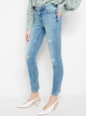 TOVA Slim fit jeans with distressed details Blue