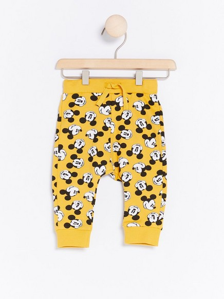 Mikki Hiiri -housut Keltainen