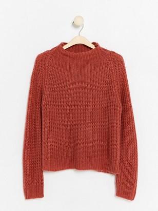 Pletený svetr Růžová