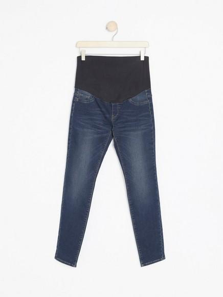 Supermyk MOM-jeans Blå