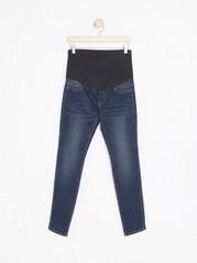 MOM supermjuka jeans  Blå