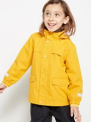Yellow Unpadded Jacket Yellow