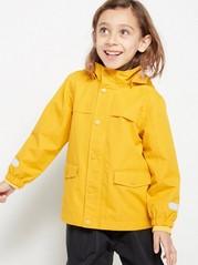 Keltainen toppaukseton takki Keltainen