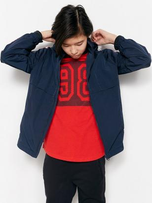 Jacket with Side Stripes Blue
