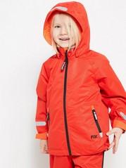 FIX toiminnallinen takki Punainen