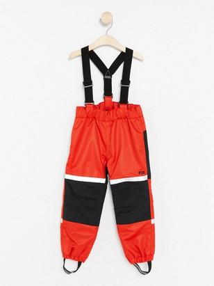 Funkční kalhoty FIX Červená