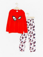 Pyjama Set with Spider-man Red