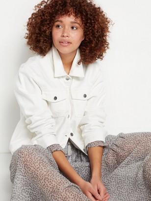 Džínová bunda Bílá