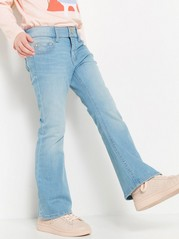 Slim Jeans with Bootcut Blue