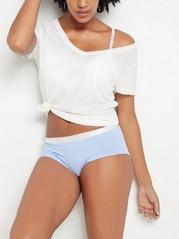 Kalhotky klasického střihu Modrá