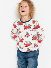 Top with Bamse Motif White