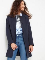 Woven Coat  Blue