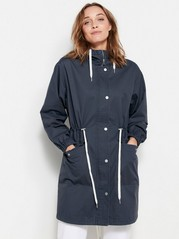Cotton Parka  Blue