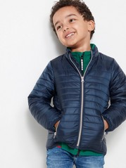 Blue Padded Jacket Blue
