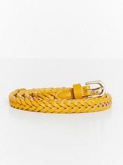 Braided Belt  Yellow