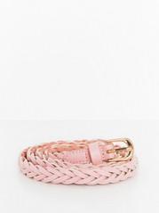 Braided Belt  Pink