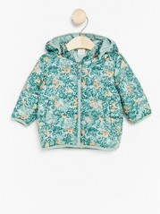 Padded Jacket Aqua