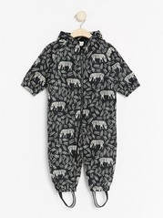 Overall with Zebras Black