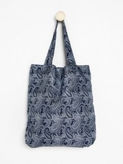 Foldable shopper  Blue