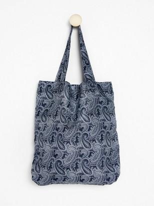 Foldable shopper  Blue