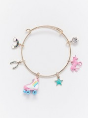 Bracelet with Charms White