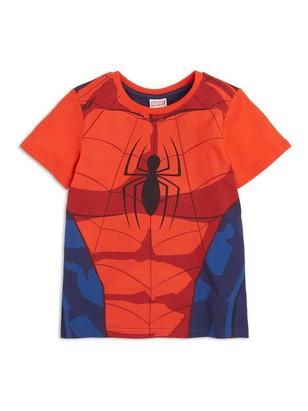 T-paita, jossa Spider Man -painatus Sininen
