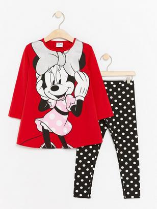 Minnie Mouse Set Red