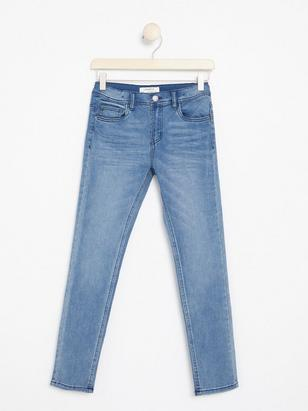Slim Jeans with Tight Leg Blue
