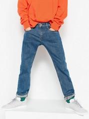 Regular jeans med raka ben Blå