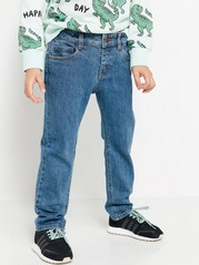Regular Jeans with Straight Legs Blue
