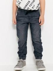 Loose Jersey Jeans Grey