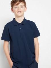Poloskjorte Blå
