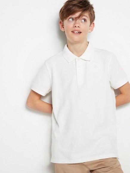 Poloskjorte Hvit