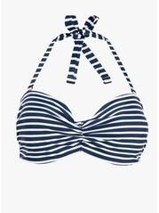 Bandeau Bikini Bra Blue