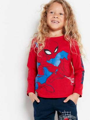 T-shirt with Spider-Man print Red