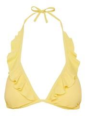 Triangle Bikini Bra Yellow