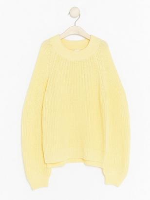 Chunky Knit Sweater Yellow