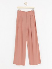 Pink Trousers in Lyocell Blend  Pink