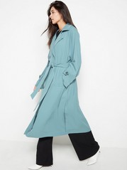Oversized Trenchcoat  Blue