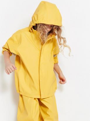 Rain Jacket Yellow